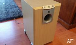 JBL ACTIVE SUBWOOFER IN PERFECT WORKING CONDITION