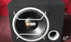 JBL 250 watt, peak 1000 watt subwoofer that can be used