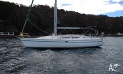 My boat is a Lovely 37 foot 1996 Jeanneau Moored Yacht.