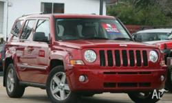 JEEP, PATRIOT, MK MY09, 2010, 4x4, LEATHER trim, 4D