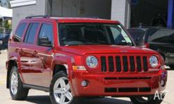 JEEP, PATRIOT, MK MY09, 2010, 4x4, Inferno Red Crystal