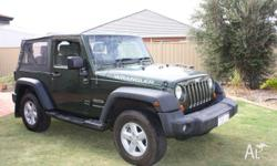 2007 Jeep Wrangler JK 4X4 Softtop. Only 34,000 kms.