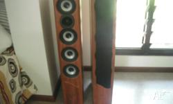 QX-45 180 Watt Jensen speakers, Rosewood. very good