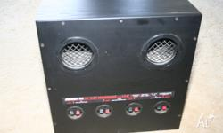 jensen LX-24 subwoofer 190 watt passive great to add to
