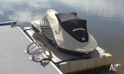 Jet Ski Dock - EzPort 3 Drive On Docking System, Boat