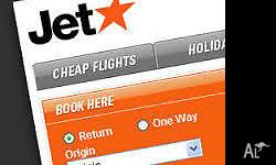 Return Ticket Jetstar Prices for one way is $109.00 and