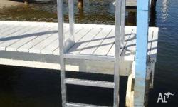 Jetty Ladder - Aluminum Access Ladder - Custom Made to