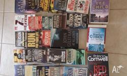 Job lot of 28 books, Includes 11 James Patterson, 6 Lee
