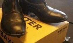 Dublin black jodhpur boots in great condition as they