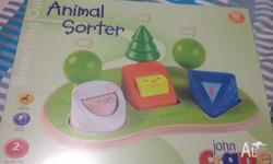 John Crane Animal Sorter $10 Sealed in packaging.