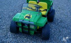 12v John Deer Gator,our grandies have outgrown this