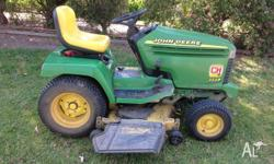 355D John Deere ride on mower in great condition. 512