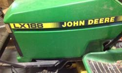 Great Model John Deere Ride on lawn mower - LX188 48