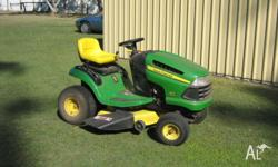 This mower is in excellent condition has low hours not