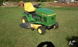 Ride on mower, Model STX38, 38 inch cut, Kohler 12.5hp