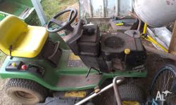 John Deere STX38 Yard Tractor comes with a spare set of
