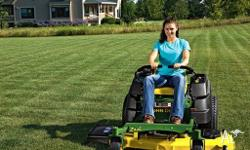 Brand New John Deere Z425 Zero turn mower, powerful