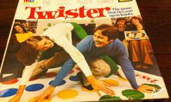 Twister. So much fun. Used - it good condition given