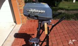 Reluctant sale of my trusty outboard. Starts easily and