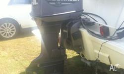 25 HP JOHNSON OUTBOARD MOTOR LONG LEG for Sale in REDCLIFFE
