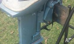 I HAVE A 9.9 HP JOHNSON OUTBOARD MOTOR WITH TANK HAD