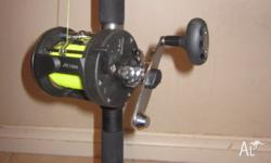 CATALYST JTS 7500 REEL AND BTO 210 FIBRE GLASS ROD 24