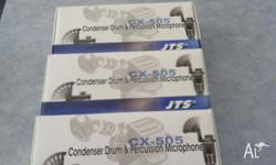 I am selling 3 JTS CX-505 professional percussion
