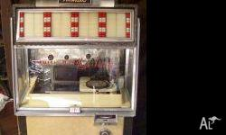 1955-6 AMI National G80 Juke box. In good condition. I