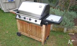 For sale is a Jumbuck Gas BBQ in good condition