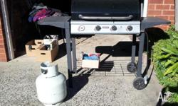 Gas BBQ which we inherited from previous tenants,
