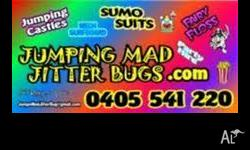 JUMPING MAD JITTER BUGS.COM NOW IN GYMPIE �SUNSHINE
