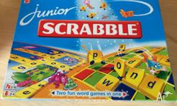 "As New !! Junior ""Scrabble"" from MATEL Board Games"