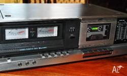 JVC Cassette deck KD - S201Super ANRS..was all working