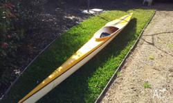 K1 racing kayak This kayak was picked-up second hand