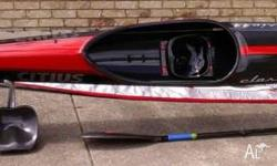 For Sale K1 Masters Racing Kayak Citius Classic 44.