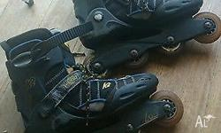 For Sale: K2 ASCENT Velocity In-line Skates These are