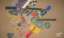 Assorted K'nex with Instruction booklets