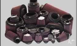 K air filters are designed to achieve high, virtually