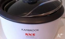 We have a Kambrook Rice Cooker for sale. Works great