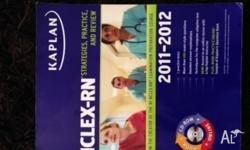 Fairly new Kaplan NCLEX-RN 2011-2012 Edition without