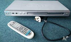 This is a nice multiformat device that plays DVD, VCD,