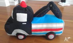 I have a excellent condition truck cushion by Kas Kid,
