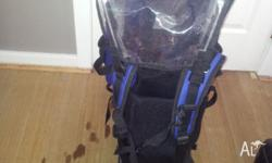 Katmandu baby back pack, in good clean condition, has
