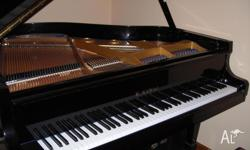 "Kawai KG1C baby grand piano 1984 5""1 ebony piano for"