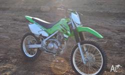 Stolen 2008 KAWASAKI 140 Motor Cross Bike, Wanted