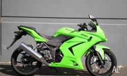 KAWASAKI,250CC,2009, SPORTS, .2, 2cyl, 6sp MANUAL, In