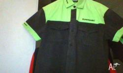 KAWASAKI GENUINE CLOTHING. List includes 1 Full-length
