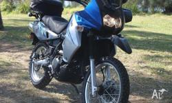 2010 KLR 650, excellent condition, only 7600kms, new