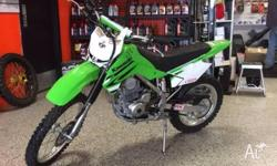 2008 KAWASAKI KLX140 Large Wheel. This bike is as close