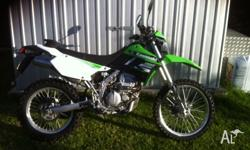 Hey guys, up for sale I have my 2013 Kawasaki klx250s.